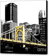 Sister #2 In Pittsburgh Canvas Print