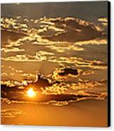 Sky Ablaze 1 Canvas Print by Marty Koch