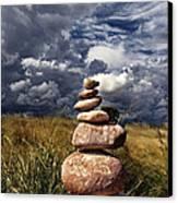 Sky Of Stone Canvas Print by Gabriel Calahorra