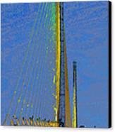 Skyway Crossing Canvas Print by David Lee Thompson