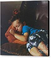 Sleeping Beauty Canvas Print by Joanne Kocwin