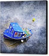 Small Fisherman Boat Canvas Print by Svetlana Sewell