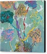 Small Grove Canvas Print by Helene Henderson