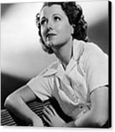 Small Town Girl, Janet Gaynor, 1936 Canvas Print by Everett