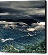 Smoky Mountain Clouds    Canvas Print by Glenn Lawrence