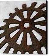 Snowflake Canvas Print by Odd Jeppesen