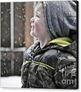 Snowflake Thoughts Canvas Print