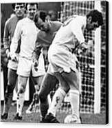 Soccer Match, C1970 Canvas Print by Granger