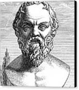 Socrates, Ancient Greek Philosopher Canvas Print by