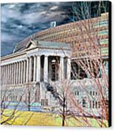 Solarized Stadium Canvas Print by David Bearden