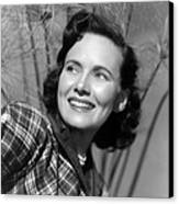 Something To Live For, Teresa Wright Canvas Print by Everett