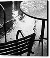 Sometimes It Rains Canvas Print by Anne McDonald