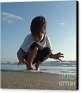 Son Of The Beach Canvas Print