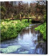 Southards Pond In Spring Canvas Print by Vicki Jauron