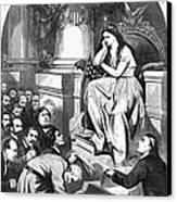 Southern Pardon Cartoon Canvas Print by Granger