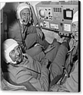 Soyuz 11 Rocket Crew Canvas Print by Ria Novosti