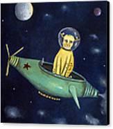 Space Bob Canvas Print