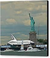 Space Shuttle Enterprise 2 Canvas Print