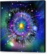 Space-time Gateway Canvas Print by Richard Kail