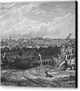 Spain: Madrid, 1833 Canvas Print