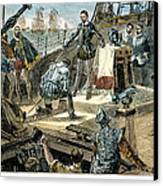 Spanish Armada Canvas Print by Granger