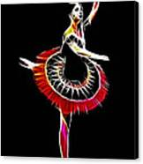 Spanish Ballerina Canvas Print by Steve K