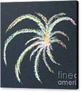 Sparkler Canvas Print by Alys Caviness-Gober