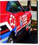 Speedway Camaro Canvas Print