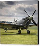 Spitfire Ready To Go Canvas Print