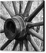 Spokes Canvas Print by Ernie Echols
