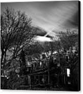 Spooky Night Canvas Print by Ken Stachnik