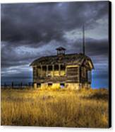 Spot On The School House Canvas Print