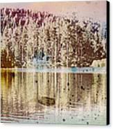 Sprayscape Lake Canvas Print by Stephen Sly