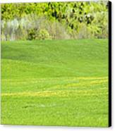 Spring Farm Landscape In Maine Canvas Print by Keith Webber Jr