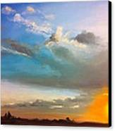 Springfield Sunset Canvas Print by Prashant Shah