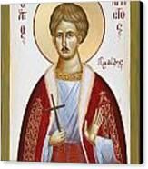 St Chrestos Of Preveza Canvas Print by Julia Bridget Hayes