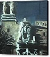 St Francis On The Brazos Canvas Print by Patsy Gunn