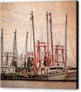 St John's Shrimping Canvas Print