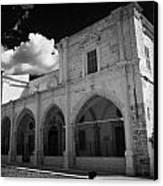 St Josephs Convent And Catholic Church St Joseph De L Apparition Larnaca Republic Of Cyprus Canvas Print by Joe Fox