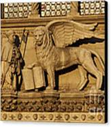 St. Mark The Winged Lion Canvas Print by Chris Hill