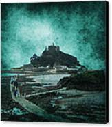 St Michaels Mount Canvas Print by Svetlana Sewell