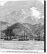 St. Thomas, 1844 Canvas Print