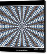 Stained Glass Kaleidoscope 32 Canvas Print