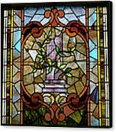 Stained Glass Lc 12 Canvas Print