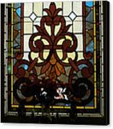 Stained Glass Lc 16 Canvas Print by Thomas Woolworth