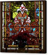 Stained Glass Lc 17 Canvas Print