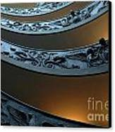 Staircase At The Vatican Canvas Print by Bob Christopher