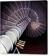 Stairs To The Light Canvas Print by Skip Willits
