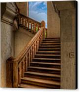 Stairway To Heaven Canvas Print by Adrian Evans
