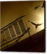 Stairway To Heaven Canvas Print by Photo by marianna armata